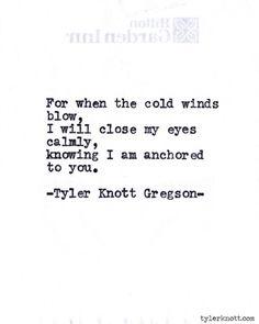 tylerknott: Typewriter Series #587 by Tyler Knott Gregson