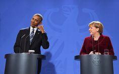 Dennoch blieb Raum zu scherzen. Obama wird fehlen - sicher auch der Kanzlerin.
