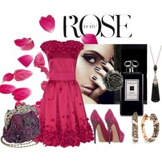"""""""A Rose By Any Other Name"""" by melange-art on Polyvore"""
