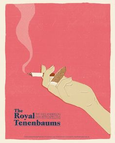 The Royal Tenenbaums ~ Minimal Movie Poster by Chris Schwartz ~ Wes Anderson Series Wes Anderson Films, Wes Anderson Poster, La Famille Tenenbaum, Royal Films, The Royal Tenenbaums, Minimal Movie Posters, Minimal Poster, Poster Series, Alternative Movie Posters