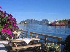De Lofoten eilanden in Scandinavië
