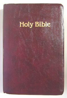 New King James Bible Thomas Nelson Publishers Red Letter with Extras 1992 #RealisticandInspirational