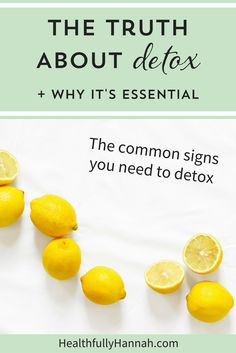 Do you need to detox? Get the truth about detox and why it's essential. Click through to learn more!