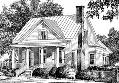 Walterboro Ridge - Moser Design Group | Southern Living House Plans. One of my favorites