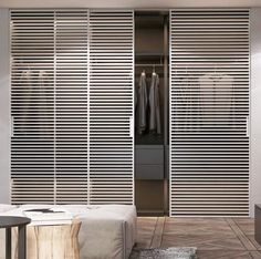 Bedroom Closet Design, Modern Bedroom Design, Home Bedroom, Wardrobe Room, Wardrobe Furniture, Wardrobe Door Designs, Closet Designs, Sliding Door Panels, Dressing Room Closet
