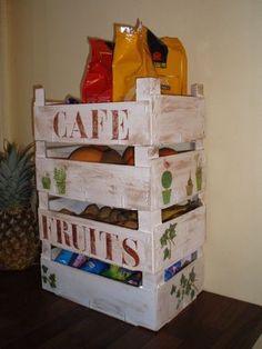 Transformation de cagettes de fruits Instructions de...