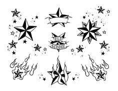 nautical star flash page 01 bw by deadloser13 on @DeviantArt