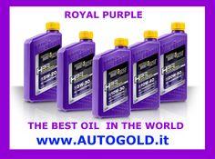 Per qualità sintetica (PAO ed Estere), prestazioni e protezione, Royal Purple è considerato da molti il miglior olio sul mercato.