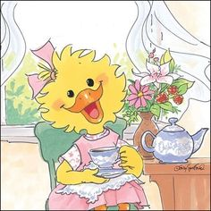 Suzy's Zoo tea time