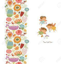29121359-Floral-with-fairies-Stock-Vector.jpg (1232×1300)