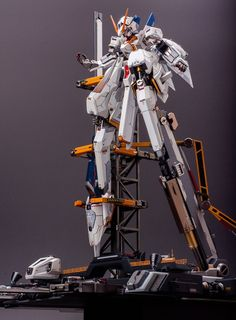 GUNDAM GUY: A.O.Z RX-124 GUMDAM TR6 [Wondwart] - Diorama Build