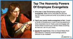 Tap The Heavenly Power Of Employee Evangelists by @GerryMoran - outstanding post! #checkitout