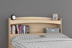 Brook Hollow Full Wood Storage Headboard