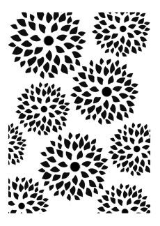 Chrysanthemum flower online coloring page. Goes along with
