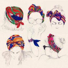 Different kind for wear a #silk #scarf   www.setamodaeaccessori.com