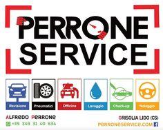 Pronto un altro banner stradale per #PerroneService - formato 2x2,5mt. 🧔 #yoursocialnoise!