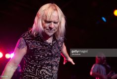 Singer Bernie Shaw of the British hard rock band Uriah Heep performs live during a concert at the Postbahnhof on December15, 2009 in Berlin, Germany. The concert is part of the 2009 tour.