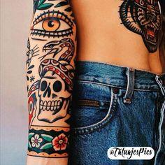"6,689 Likes, 39 Comments - ☆ TATUAJES - TATTOOS ☆ (@tatuajespics) on Instagram: ""#tattoos #tatuajes #tattoo #tatuaje 〽️"""