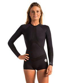 Madison 1mm Long Sleeve Boyleg Spring Wetsuit   Womens Spring Suit Wetsuits   Springsuits   Rip Curl Australia