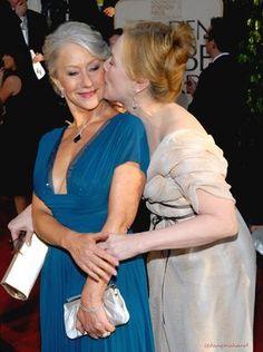 With Helen Mirren