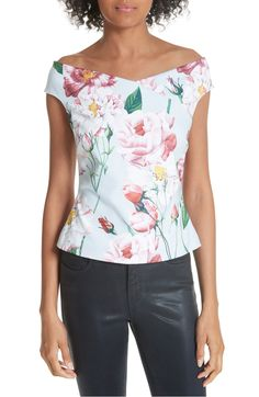 6ae04551cfa Free shipping and returns on Ted Baker London Padmaa Iguazu Bardot Top at  Nordstrom.com