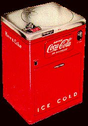 "Coca Cola Vendo 23 ""Spin Top"""
