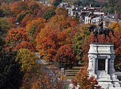 Monument Avenue in fall... the best!