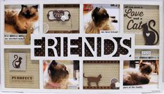friends frame - Anita Bownds for #kaisercraft