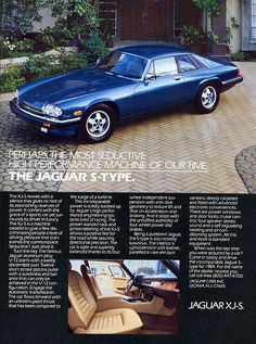 Jaguar XJS First saw this when I was a child and I still love it!