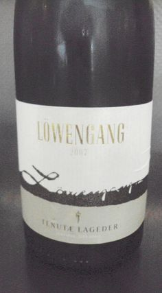 Lowengang Chardonnay - Reminiscent of Chassagne Montrachet, petrol nose & long finish