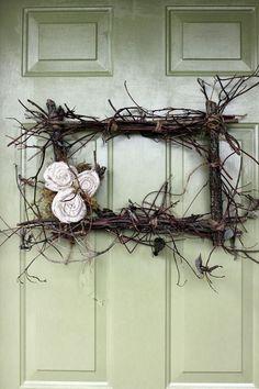 Kapı Süsü İçin Yaratıcı Kendin Yap Fikirleri