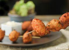 Buñuelos de bacalao y patata - L'Exquisit
