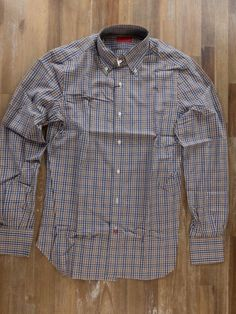 auth ISAIA Napoli button-down plaid cotton shirt - Size 39 / 15.5 - NWOT | Clothing, Shoes & Accessories, Men's Clothing, Dress Shirts | eBay!