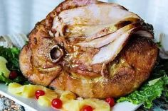 Make this Louisiana style glazed ham for a unique twist for your next holiday dinner. This blue ribbon winning recipe is sticky and sweet with a little bit of tang! Best Pork Chop Recipe, Pork Chop Recipes, Ham Recipes, Crockpot Recipes, Recipies, Louisiana, Holiday Dinner, Holiday Ham, Christmas Ham