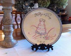 custom wedding plate – Etsy