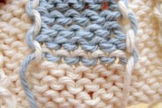 Intarsia 101: Add a Color Design to Your Knitting