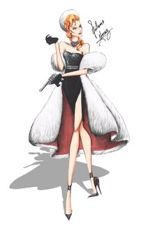 Helga Sinclair in Haute Couture by Guillermo Meraz by frozen-winter-prince on DeviantArt