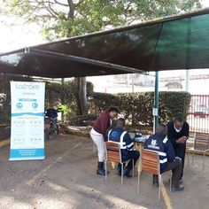 Lapaire Glasses is offering tests at Nairobi, Kenya. Can you see the Netra in the picture? Optometry, Nairobi, Kenya, Canning, Glasses, Outdoor Decor, Pictures, Free, Eyewear