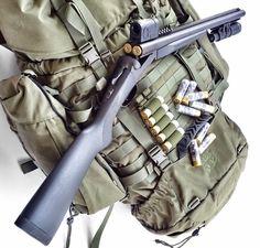 Side by side 12 Gauge Airsoft Guns, Weapons Guns, Guns And Ammo, Tactical Shotgun, Tactical Gear, Combat Shotgun, Tactical Equipment, Custom Guns, Firearms
