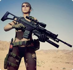 QUIET - Metal Gear Solid V The Phantom Pain #MGSV #MGSVTPP #ThePhantomPain #MetalGearSolidV #XOF