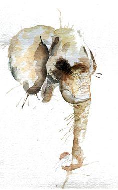 """""""Elephant Head"""" by Meg Ashford"""