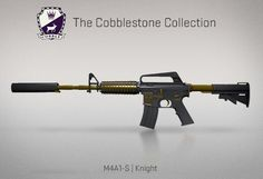 Counter-Strike Global Offensive: The Cobblestone Collection: M4A1-S Knight