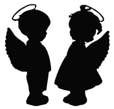Angel Babies SVG Picture