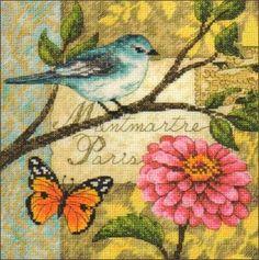 Птица на ветке (Золотая коллекция)