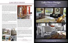 Luka Deco Design vu dans Maison Actuelle decodesign / Décoration