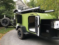 14 Best Off-Road Camper Trailers! Discover the best Off-Road Camper Trailers for your next camping adventure here in our guide that features the coolest off-road trailers you can buy! Off Road Camper Trailer, Trailer Build, Camper Trailers, Travel Trailers, Expedition Trailer, Overland Trailer, Nissan Navara, Teardrop Trailer For Sale, Teardrop Campers