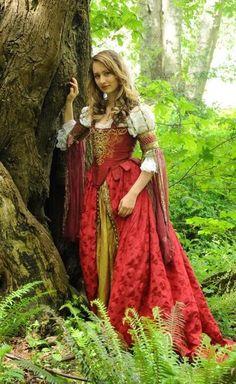 Silk Italian Courtesan Gown CUSTOM by DryadsRest on Etsy, $1500.00