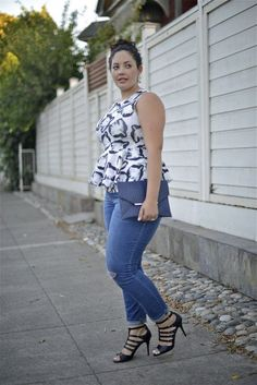 Plus size blogger 'Girl with Curves' I adore her polished look!  For more inbetweenie and plus size inspiration come to www.dressingup.co.nz