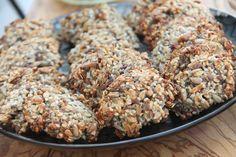 Dietetyczne ciasteczka z ziarnami - bez mąki, cukru i mleka