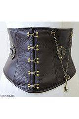 perfect steam punk corset